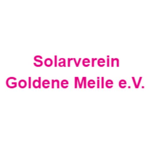 Solarverein Goldene Meile